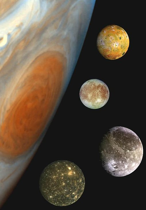 Jupiter's Galilean Moons